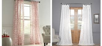 Patterned Sheer Curtains Sheer Curtains The Blind That Does It All Curtains And Drapes Ideas