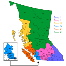 map of bc educational facility managers association of bc bc map