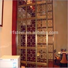 china factory commercial metal hanging room divider screen