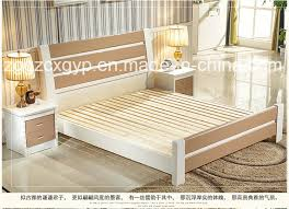China New Style Bedroom Furniture Wood BedHigh Quality Wood - High quality bedroom furniture