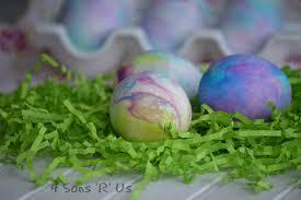 shaving cream colored easter eggs 4 sons u0027r u0027 us