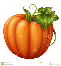 fall pumpkins background pictures autumn orange pumpkin with green leaf clip art illustration