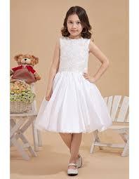 communion dresses for pretty luxury beaded knee length taffeta a line bateau