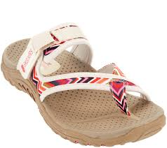 skechers thong sandals with adjustable strap zig swag page 1