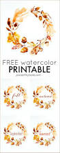 thanksgiving pictures to color and print free free watercolor thanksgiving printable place of my taste