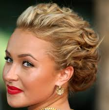 updo hairstyles for curly long hair romantic hairstyles for long