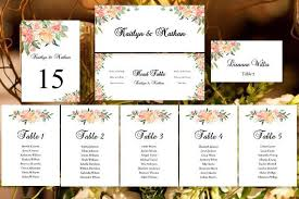 Free Wedding Seating Chart Template Excel Wedding Seating Chart Set S Garden Diy Templates Wedding