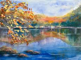 Pictures Of Landscapes by Landscape Paintings Contemporary Art In Watercolor Acrylics