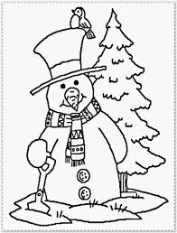 winter coloring pages realistic coloring pages