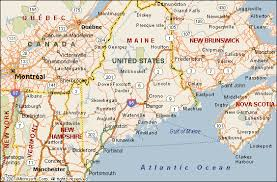 map of maine cities maine map