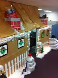 Xmas Office Decorations Christmas In Your Office Office Fun Gingerbread And Office