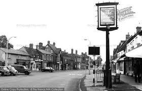 Baldock Blinds Baldock White Horse Street C 1960 Francis Frith