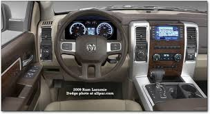 dodge truck dash 2009 dodge ram trucks features safety styling and interior