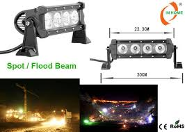 led security light bar off road led spot light bar for truck outdoor led flood lights