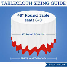Use 90 Round Tablecloths For 21 Drop On 48 Round Tables Or 108