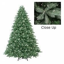 ge 6 5 pre lit just cut douglas fir artificial tree