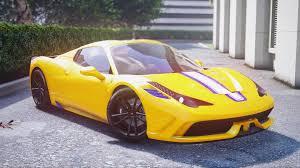 ferrari yellow 458 ferrari 458 speciale aperta 4k liveries gta5 mods com