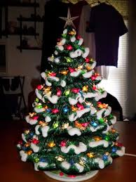 ceramic christmas tree with lights fashioned ceramic christmas tree lighted light up