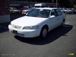 1999 super white toyota camry le 19953580 gtcarlot com car