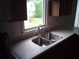 Solid Surface Sinks Kitchen by Solidsurface Sink Replacement Youtube