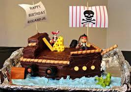 coolest jake u0026 neverland pirate ship cake