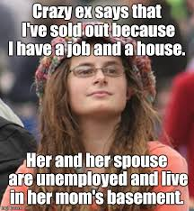 Crazy Ex Meme - college liberal small imgflip