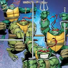 teenage mutant ninja turtles idw comic ipad wallpaper laser