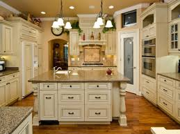 white antiqued kitchen cabinets kitchen cabinet paint color