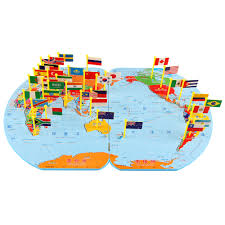 World Map Country Flags Maps World Map Puzzle For Toddlers Blog With Collection Of Maps