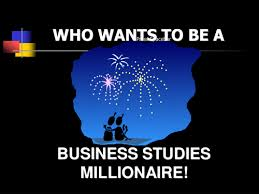 who wants to be a business studies millionaire by marcusisherwood
