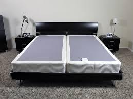 Mattress Bed Frame Saatva U0026 Loom U0026 Leaf Foundation Review Sleepopolis