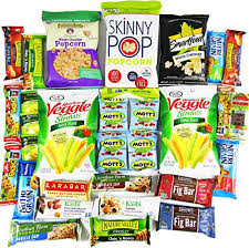 healthy care packages deluxe healthy care package canopy snacks box 30 count