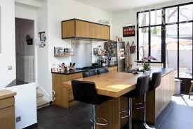 cuisine ardoise et bois cuisine lumineuse tendance bois et ardoise c0883 mires