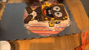 spongebob squarepants birthday cake youtube