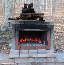 Backyard Brick Pizza Oven Brick Oven Plans And Photos From A Gardenfork Fan Diy Living