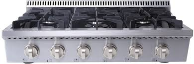 Gas On Glass Cooktop 36 36 Inch Cooktops 36 U0027 Cooktops