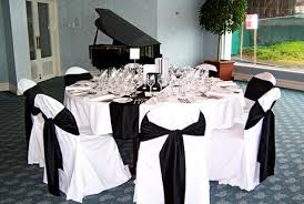 black and white chair covers outstanding black and white wedding reception the for chair