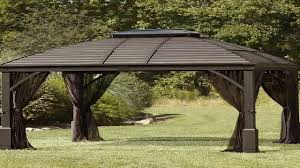 15 X 15 Metal Gazebo by 10 X 12 Chatham Steel Hardtop Gazebo Youtube