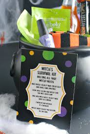 halloween gift ideas for teachers halloween gifts a fun witch u0027s survival kit u2013 fun squared