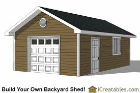 garage build plans 16x24 garage shed plans build your own large shed with a garage door