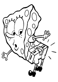spongebob squarepants coloring pages omeletta