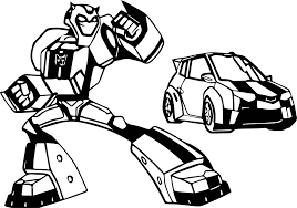 transformers and cars coloring page wecoloringpage
