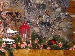 christmas mantel decorating ideas river lodge interiors
