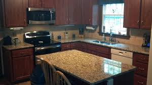 Kitchen Island Granite Countertop Leathered Granite Adds Greater Dimension To Granite Countertops