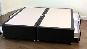 Bed Bases Amber Divan Bed Base 6ft Super King Size Youtube