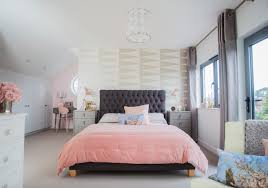 makeover dingy loft transforms into glamorous bedroom with