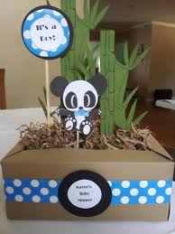 Baby Boy Shower Centerpiece by 95 Best Panda Baby Shower Ideas Images On Pinterest Panda Babies