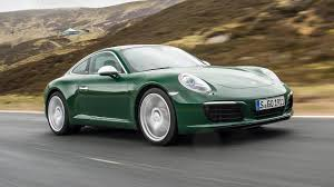 irish green porsche porsche 911 carrera s car review one millionth 911 driven top gear