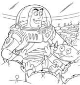 buzz lightyear coloring free printable coloring pages