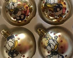 donald duck ornament etsy